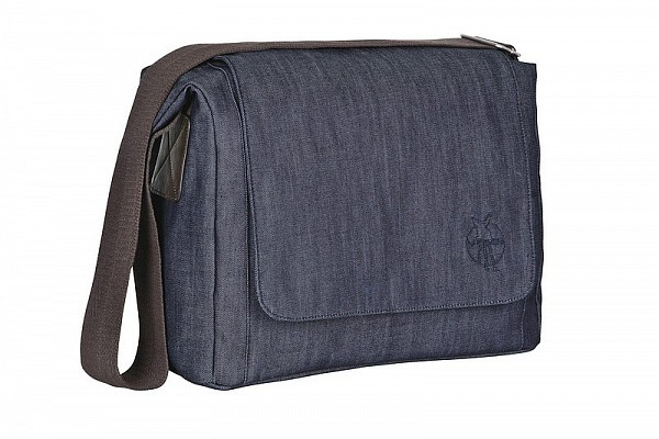 Taška Green Label Small Messenger Bag Update denim blue