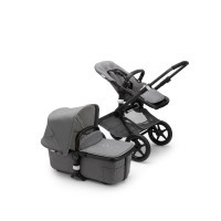 Bugaboo Fox² Classic Collection Black/Grey Melange
