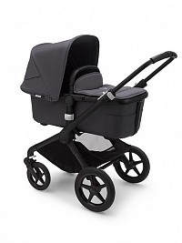 Bugaboo Fox2 complete BLACK/STEEL BLUE-STEEL BLUE