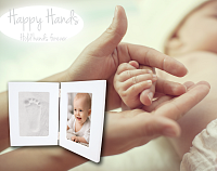 Happy Hands Double frame White