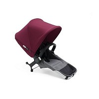 Bugaboo Donkey2 duo nástavec Grey a Red komplet