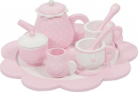 Tea set Little Dutch pink