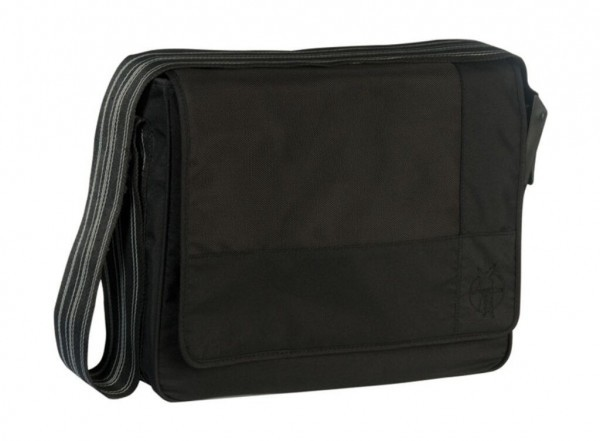 Taška Casual Messenger Bag Patchwork black